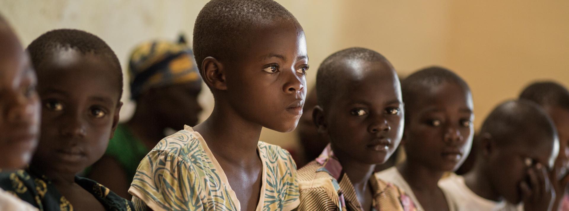Centro nutrizionale St Pierre a Wamba. R. D. del Congo