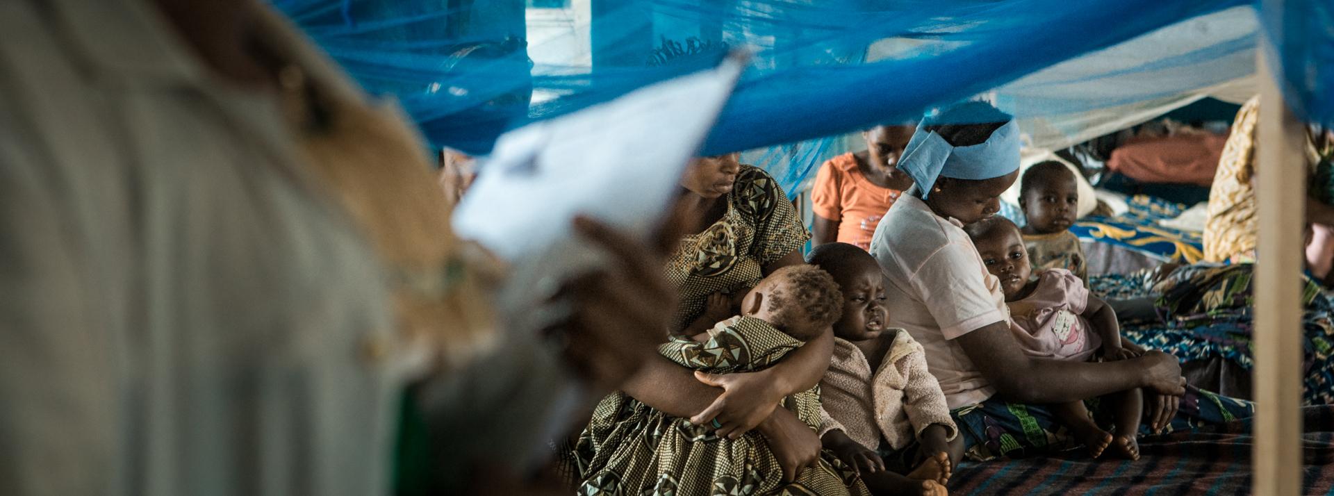 Ospedale Generale di Wamba, reparto di pediatria. R. D. del Congo